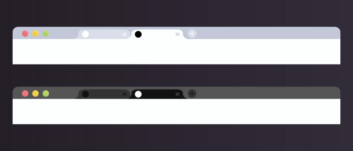 Dynamiches Favicon - Dark Mode 1
