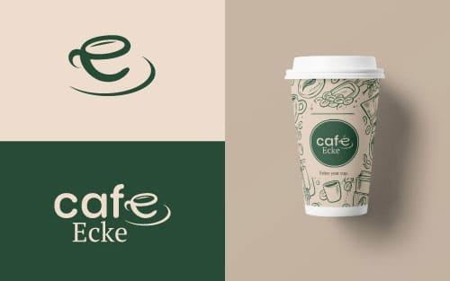 Logodesign für das Lokal CafeEcke